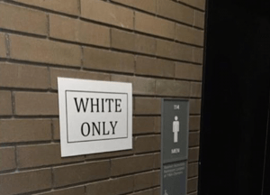 "An in depth interview with Ashley Powell…the black student who placed ""white only"" signs up throughout her college campus"